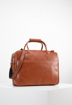 NANO BIG ZIP - Borsa porta PC - cognac