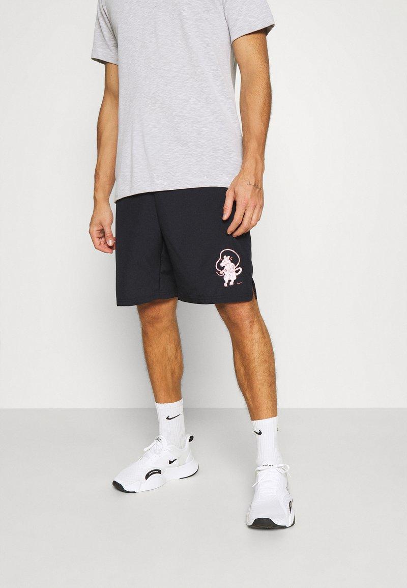 Nike Performance - SHORT STORY PACK - Korte sportsbukser - black