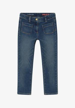 STRAIGHT LEG HEART KNEE - Jeans straight leg - light-blue denim