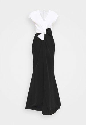 Společenské šaty - black/white