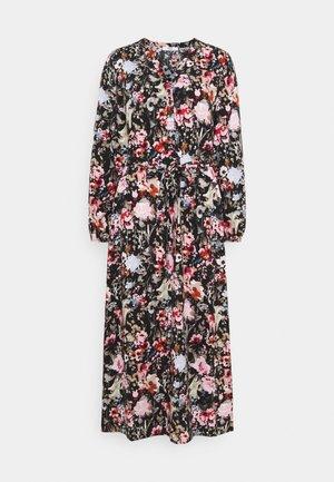 ONLDANIELLA CALF DRESS  - Skjortekjole - black