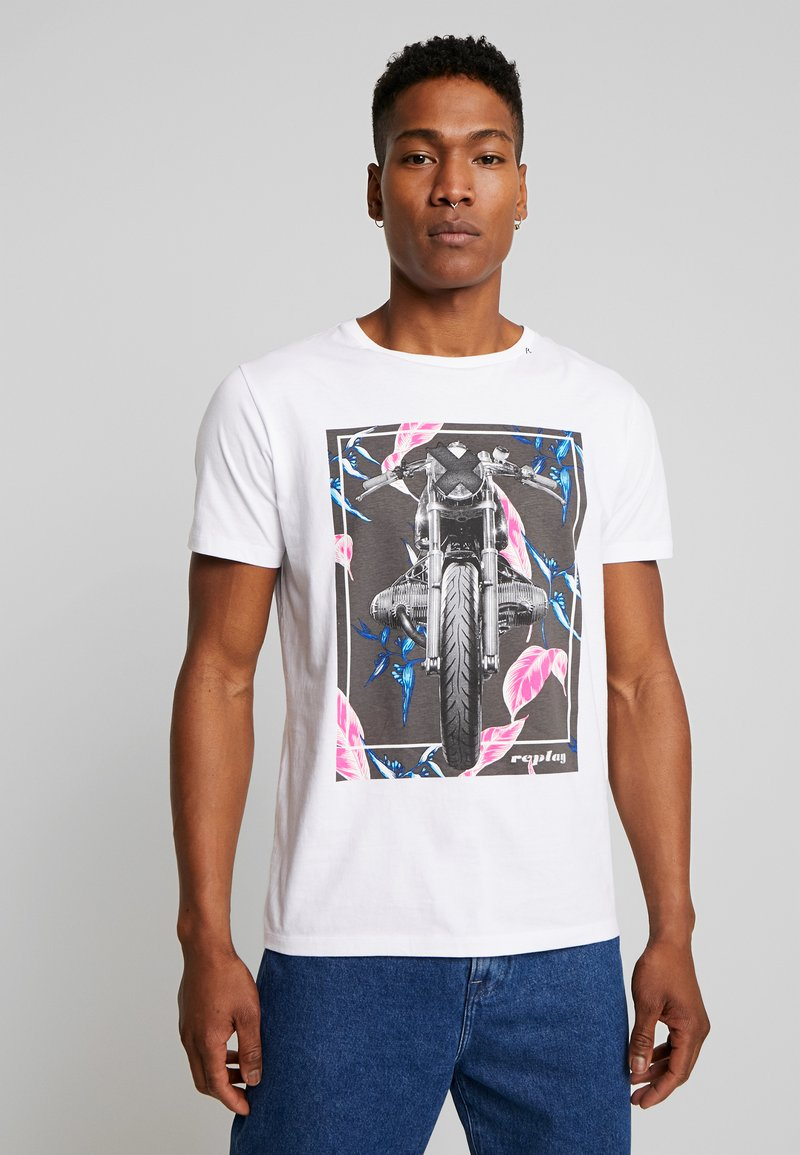 Replay - T-shirts print - white