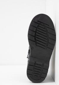 shoeb76 - Šněrovací kotníkové boty - black - 5