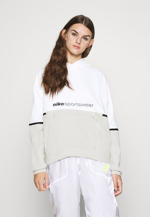 HOODIE ARCHIVE - Jersey con capucha - white/light bone/black