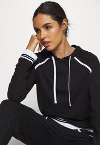 Calvin Klein Underwear - SOCK LOUNGE HOODIE - Pyjama top - black - 3