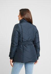 LOVE2WAIT - COAT DOUBLE ZIPPER PADDED - Winter jacket - navy - 2