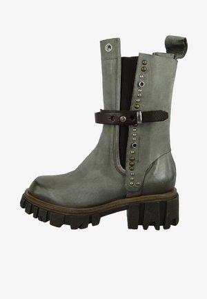 ELEGANTE  - Cowboy/biker ankle boot - cenere