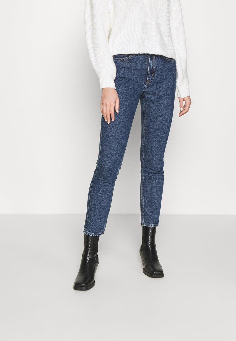 American Vintage - WIPY - Slim fit jeans - bleu stone