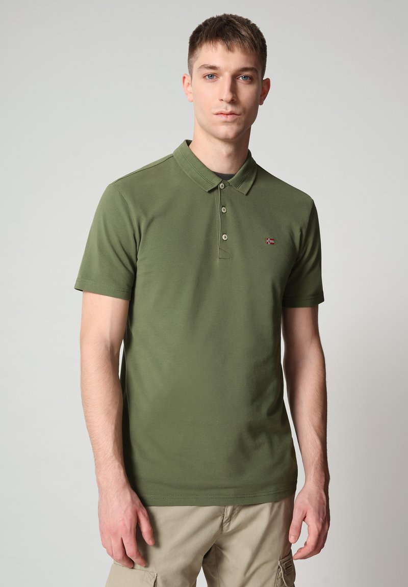 Napapijri - EALIS - Poloshirt - green cypress