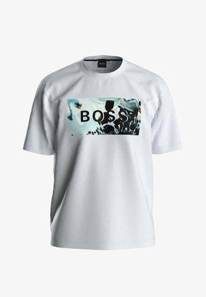 TDIGITAL - T-shirt imprimé - white
