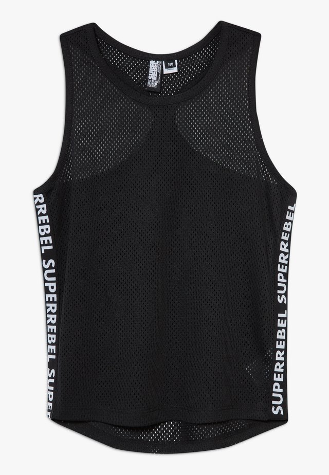 GIRLS DYNAMIC SINGLET - Topper - black