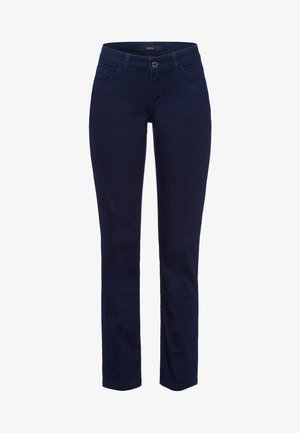 Slim fit jeans - dark blue rinse washed