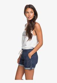 Roxy - MILADY  - Denim shorts - dark indigo - 3