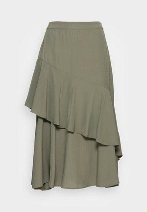 BIANCA SKIRT - A-line skirt - burnt olive