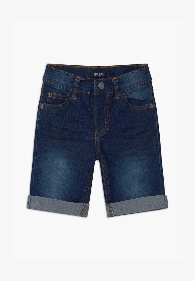 SMALL BOYS - Shorts di jeans - blue denim