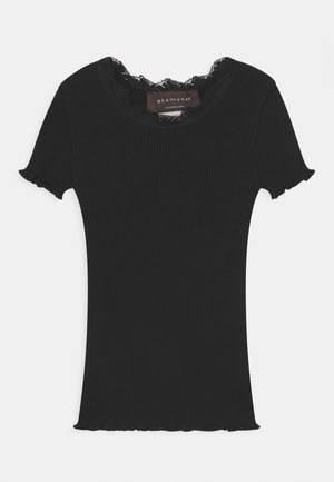 SILK-MIX - T-shirt print - black