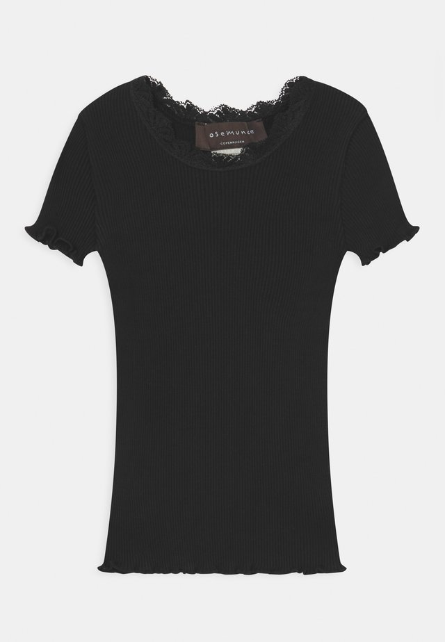 SILK-MIX - T-shirt print - black