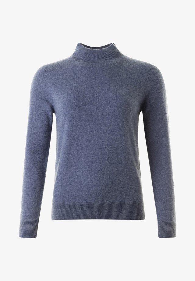 ALEX - Stickad tröja - denim mel