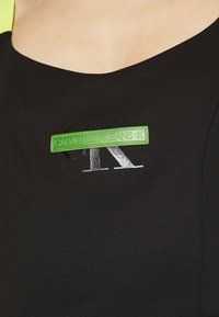 Calvin Klein Jeans - MILANO STRAPPY DRESS - Jersey dress - black - 5