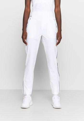 OLYMP TRACK PANT - Verryttelyhousut - white/navy blue