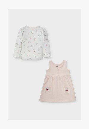 Day dress - white/rose
