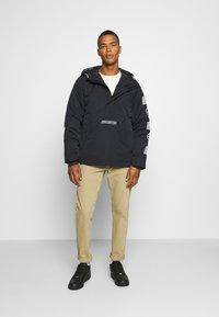 Hollister Co. - ANORAK - Light jacket - black - 1