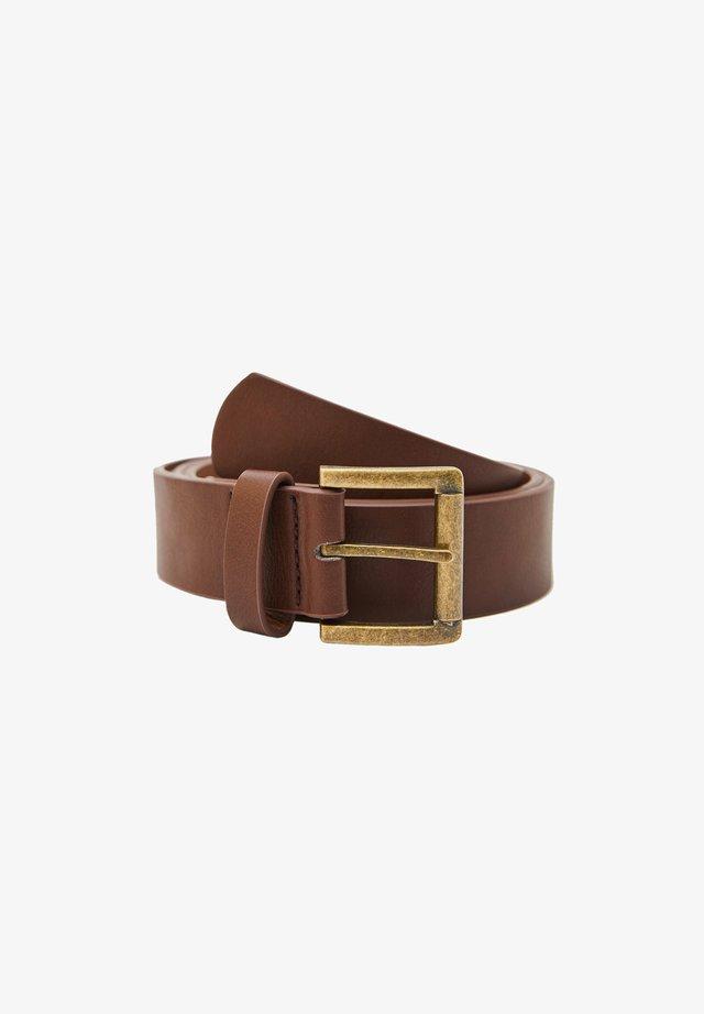 Pásek - mottled brown