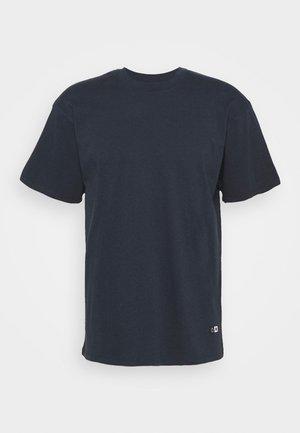OVERSIZE PLAIN SYNERGY - T-shirts basic - navy blazer