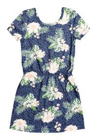 Roxy - THE CLOUDS - Jersey dress - mood indigo animalia - 1