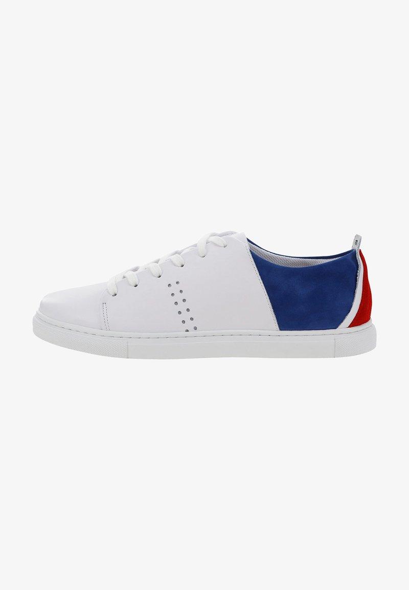 M. Moustache - RENE - Sneakers - white blue