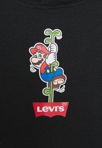 Levi's® - MARIO BATWING HOODIE - Hoodie - black - 2