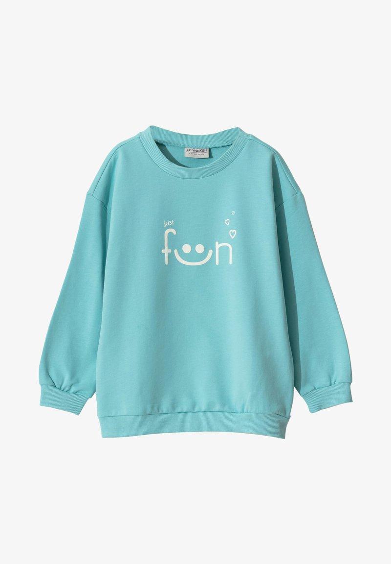 LC Waikiki - Sweatshirt - turquoise