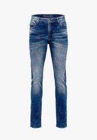 Cipo & Baxx - MIT AUFFÄLLIGER WASCHUNG - Straight leg jeans - blue - 5