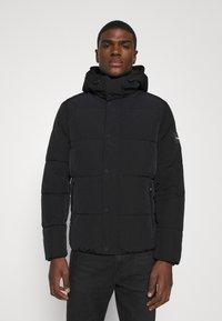Calvin Klein - CRINKLE  - Zimní bunda - black - 0