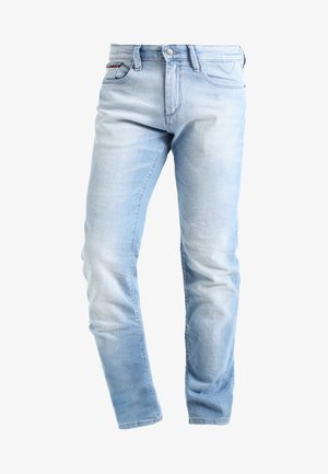 SLIM SCANTON BELB - Džíny Slim Fit - berry light blue