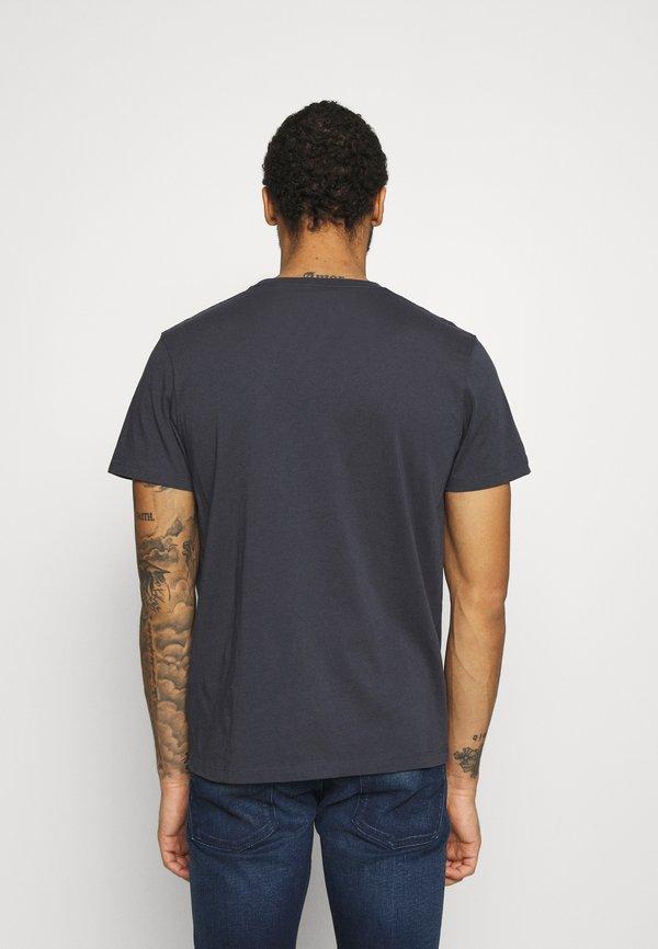 Pepe Jeans WILLIAM - T-shirt z nadrukiem - thames/granatowy Odzież Męska HIIK