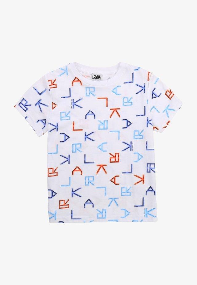 T-shirt imprimé - multico