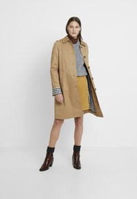 edc by Esprit - SKIRT - A-line skirt - amber yellow - 1
