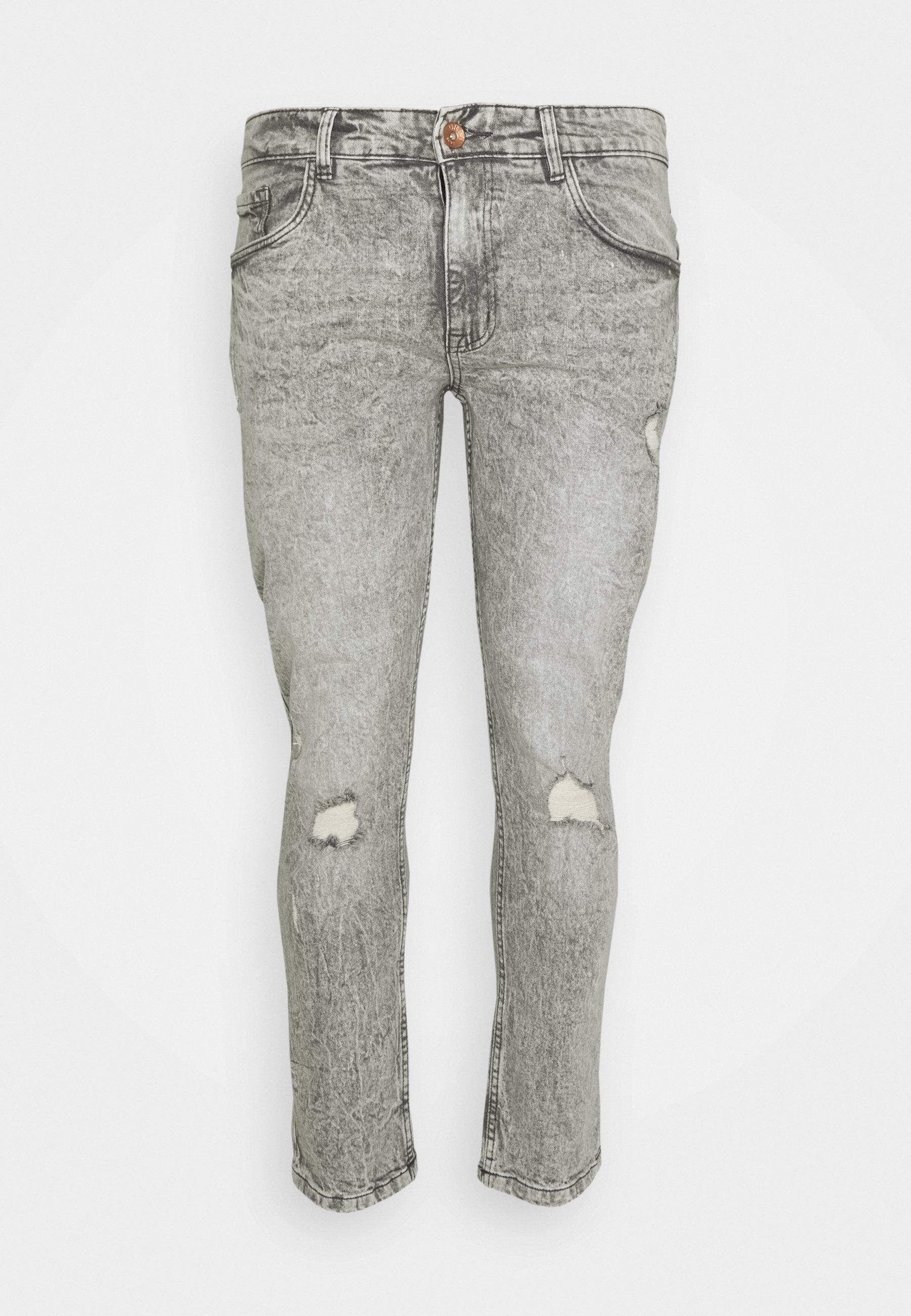 Men GENEVE DESTROY - Slim fit jeans