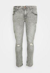 URBN SAINT - GENEVE DESTROY - Slim fit jeans - dust grey - 0