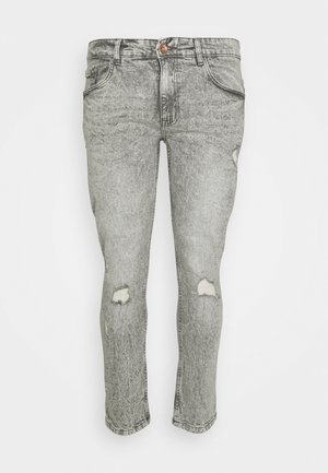 GENEVE DESTROY - Slim fit jeans - dust grey