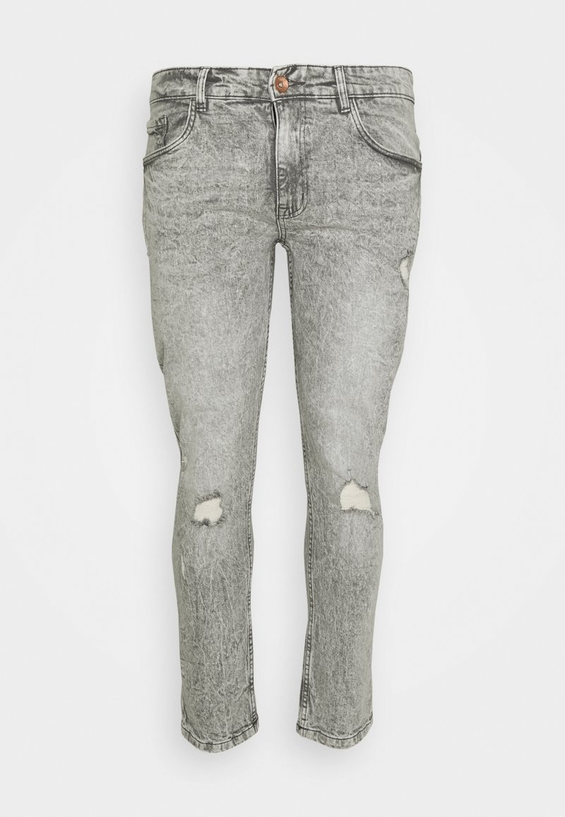 URBN SAINT - GENEVE DESTROY - Slim fit jeans - dust grey