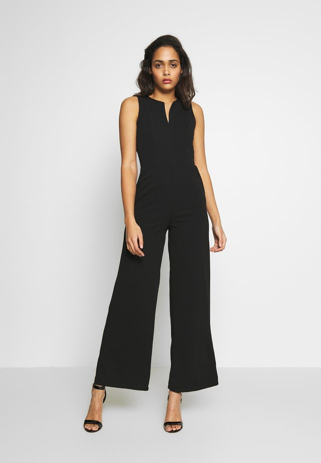 CULOTTE FITTED - Jumpsuit - black