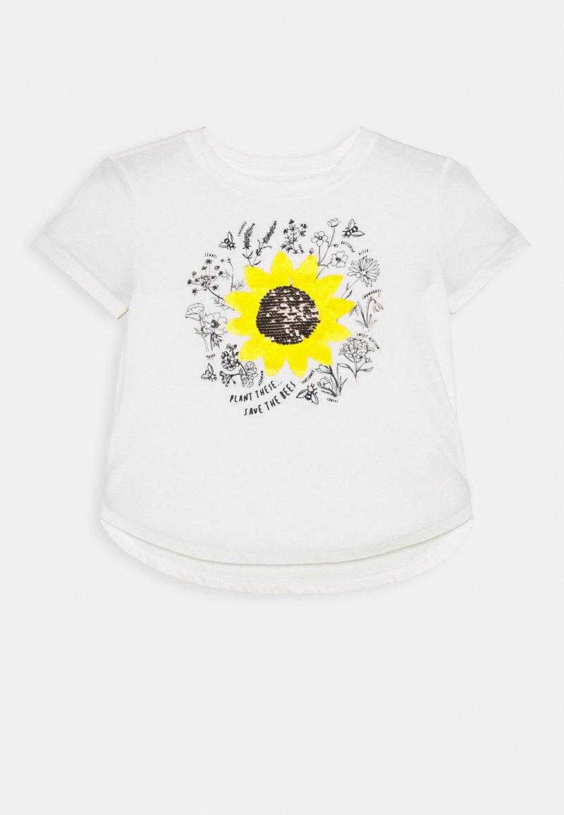 GAP - GIRL - T-shirt print - new off white