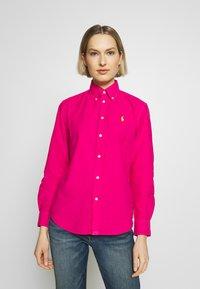 Polo Ralph Lauren - RELAXED LONG SLEEVE SHIRT - Button-down blouse - accent pink - 0
