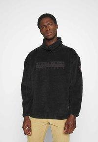 Napapijri - TEIDE - Fleece jumper - black - 0