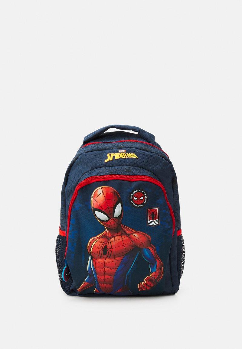 Kidzroom - BACKPACK SPIDER-MAN BE STRONG UNISEX - Rucksack - blue