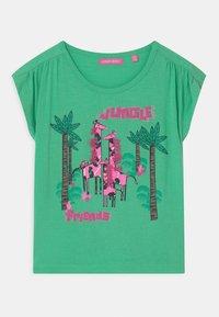 Lemon Beret - SMALL GIRLS - Print T-shirt - jade cream - 0