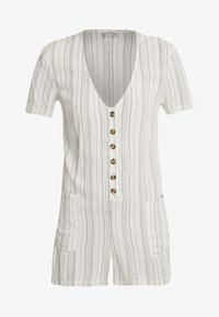 Topshop - STRIPE BUTTON - Beach accessory - cream - 4