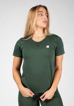 NEIRO SEAMLESS  - T-shirt print - dark green